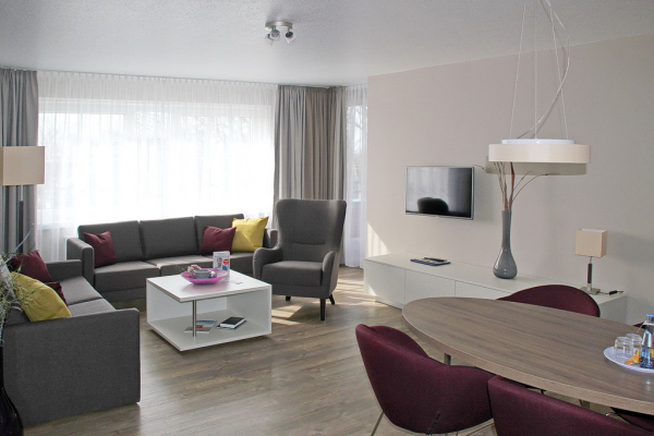 Parkhotel Emden - Suite, Living Area